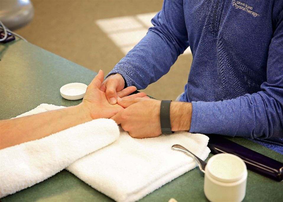 Hand Therapy - Grand Island Physical Therapy